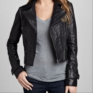 Neiman Marcus CUSP Genuine Leather Jacket (Moto)